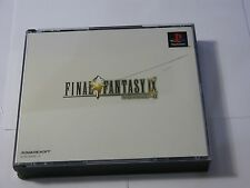 Final Fantasy IX for PlayStation 1 PS1 NTSC-J Japan - Complete - RPG
