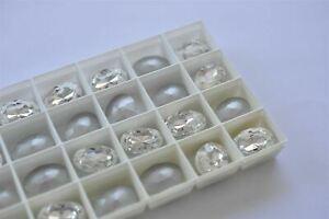 Crystal Swarovski 18x13mm Oval Shape Rhinestones #4116, 11 pieces -R088