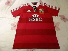 NWT Adidas 2013 British & Irish Lions Red/White Rugby Jersey (Men Size Medium)