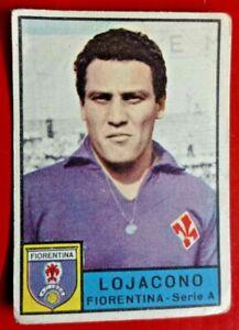 LOJACONO FIORENTINA - FIGURINA COLLEZIONE PANINI 1963/64