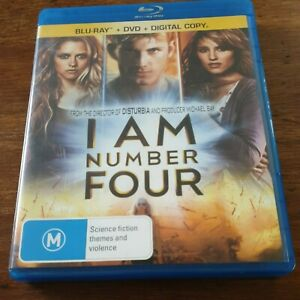 I am number Four Bluray LIKE NEW! FREE POST