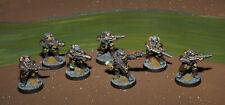 Warhammer 40K Kill Team Imperial Guard 11x Kasrkin Stormtroopers Metall oop