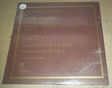 Emil von Sauer/Weingartner LISZT Concertos No.1 & 2 - Turnabout THS 65098 SEALED