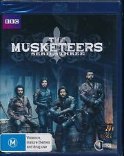 The Musketeers Series Three 3 Blu-ray Bluray NEW 4-discs
