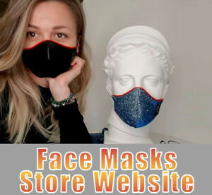 AMAZON  AFFILIATE TURNKEY WEBSITE BUSINESS FOR SALE, FACE MASKS STORE