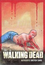 Walking Dead Season 2 Rare Ingrid Hardy sketch Card