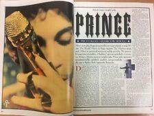 PRINCE THE MASK OF ZORRO JOEL & ETHAN COEN - MACHINA POLISH MAGAZINE No. 10/1998