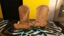Andrew Gellar Cow Girl Rubber Cowboy Boots Decent Condition Womens Size 10