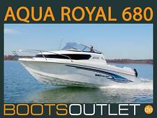 Aqua Royal 680 Cruiser Boot Angelboot Motorboot Sportboot