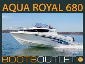 Aqua Royal 680 Cruiser Boot Angelboot Motorboot Sportboot