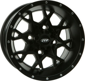 ITP Front/Rear - - Hurricane Wheels 14RB110BX 14HR110 14 x 7 Front | 1428636536B