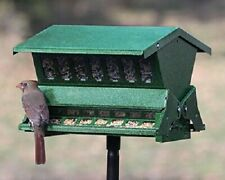 NEW Double Sided Absolute II Bird Feeder with Pole and Hanger Squirrel Proof
