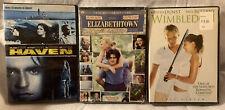 Kirsten Dunst & Orlando Bloom Dvds Haven; Elizabethtown; Wimbledon Free Shipping