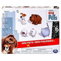 The Secret Life of Pets Mini Pets Collectible Figures 5 Pack NEW FREE SHIPPING