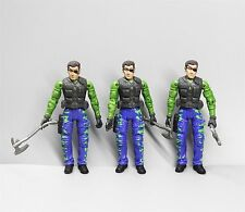 LOT 3 UNIMAX TOYS BRAVO TEAM SECRET SOLDIERS FORCE Military ACTION FIGURE 3.75""