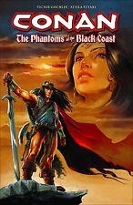 CONAN: PHANTOMS OF THE BLACK COAST TPB Dark Horse Barbarian Comics #1-5 TP
