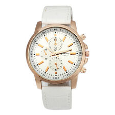 Mode Damen Armbanduhren Edelstahl Leder Analog Quarz Sport Uhren Watch