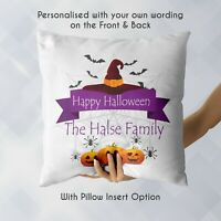 Personalised Halloween Theme Gift Pillowcase | Pillow Case Cover & Insert