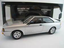 Audi Quattro  1980 in silber  Limitiert auf 504 Stück  Minichamps 1:18  OVP  NEU