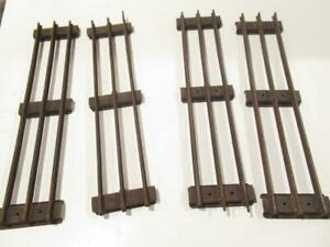 LIONEL PRE-WAR - 4 SECTIONS STANDARD GAUGE STRAIGHT TRACK-SUPER SALE- RUSTED-