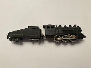 Rare Vintage Ho Scale Fleischmann Pennsylvania RR 0-6-0 #1304 for parts/repair