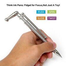 THINK INK PEN Office Fidget Pen Magnetic Metal Roller Ball Pen Anti Stress