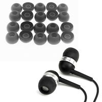 For Universal Earphones Large Replacement Silicone EARBUD Tips Covers 20pcs IJ