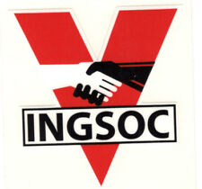 INGSOC 1984 Newspeak English Socialist Party Oceania Sticker Decal Orwell