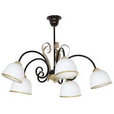 Plafonnier Suspension Lampe Style Art Nouveau Maison De Campagne Laiton Rustique