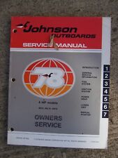 1978 Johnson 4 Hp 4R78 4Rl78 4W78 Outboard Owner Service Manual See R Store Rr