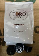 64 Capsule Nescafè Dolce Gusto Compatibili Toro Caffè artigianale - Ginseng