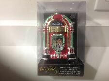 Elvis Presley hand crafted hanging or stand alone ornament (Kurt Adler ) in box