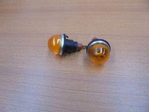 Fiat 600 T Estate/850 Van Coriasco Pair of Indicators Side Plug Flat