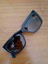 Vintage 1960s Italian Made Unisex Black Sunglasses