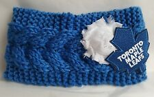 Woman's Toronto Maple Leafs Headband NHL Hockey Headband Canada Earmuff