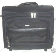 Solo B644 Rolling Wheels Laptop Case Overnighter Bag Telescopic Handle