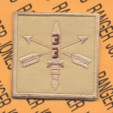 3-3rd Special Forces Group  AIRBORNE Helmet Cover patch