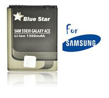 Batterie Li-ion Blue star pour GSM Samsung Galaxy Ace S5830, 1300mAh