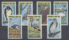 OISEAU Haute Volta 7 val de 1979 ** BIRD VOGEL UCCELLO