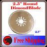 Diamond Round Cut  Oscillating Multi Tool Blade Disc For Ridgid Ryobi Milwaukee