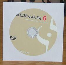 Sonar (Cakewalk) 6 Producer Edition dvd