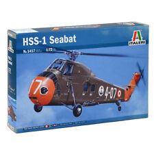 Italeri HSS-1 Seabat Model Set (Scale 1:72) Helicopter Model Kit 1417 NEW