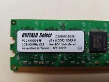 2GB 2Rx8 DDR2 800MHz CL5