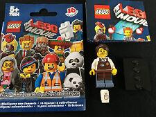 LEGO 71004 Minifigur Barista Larry  Collectible Minifigures Serie Movie new