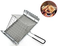 Kovea Folding Multi Toaster Stainless BBQ Skewere Roast Stovetop Grill Outdoor