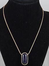 Nuevo Azul Goldstone arenisca de piedras preciosas de curación Colgante Collar Aretes Regalo