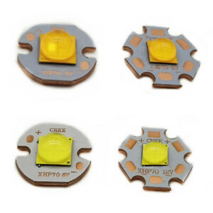 Cree XLamp XHP70.2 LED Chip beads Cool/Warm 7070 20W 6V 12V With 20mm Cooper PCB