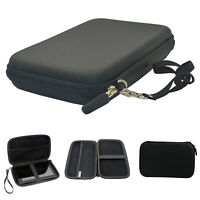 """7"""" Black Pouch Hard bag Case for 6"""" 7"""" GPS PAD Tablet Samsung Galaxy tab Kindle"""