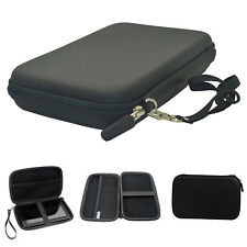 "7"" Black Pouch Hard bag Case for 6"" 7"" GPS PAD Tablet Samsung Galaxy tab Kindle"