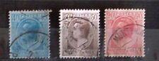 Monaco (A13) SC# 73, 76 & 83- USED NH- 1927 1.Prince Louis II
